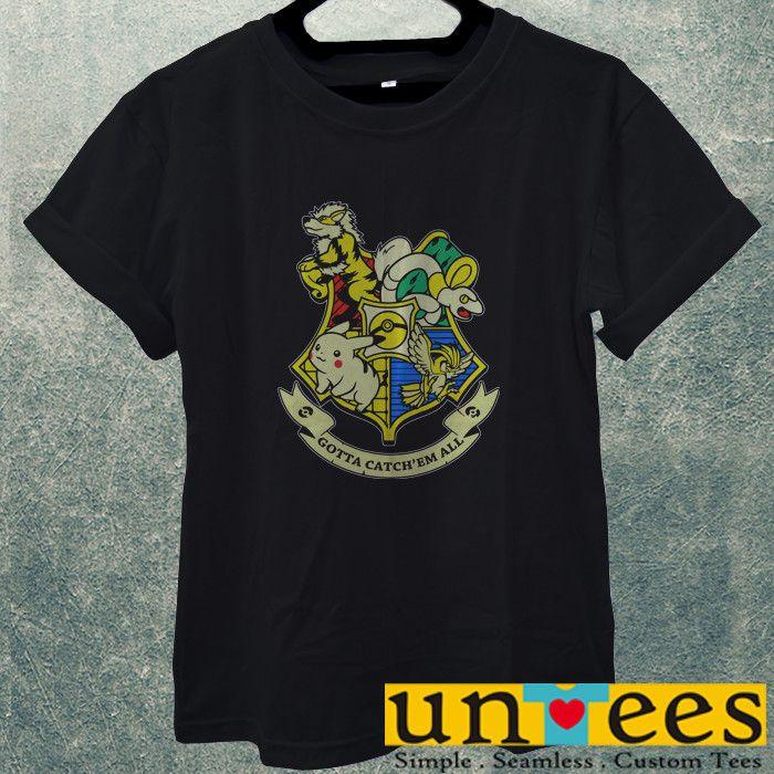 Low Price Men's Adult T-Shirt - Harry Potter Pokemon Funny Logo Design