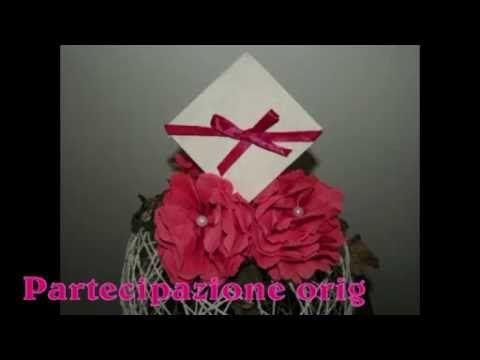 Partecipazione origami - video tutorial | Il magico mondo di Aly