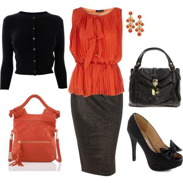 .Black heels