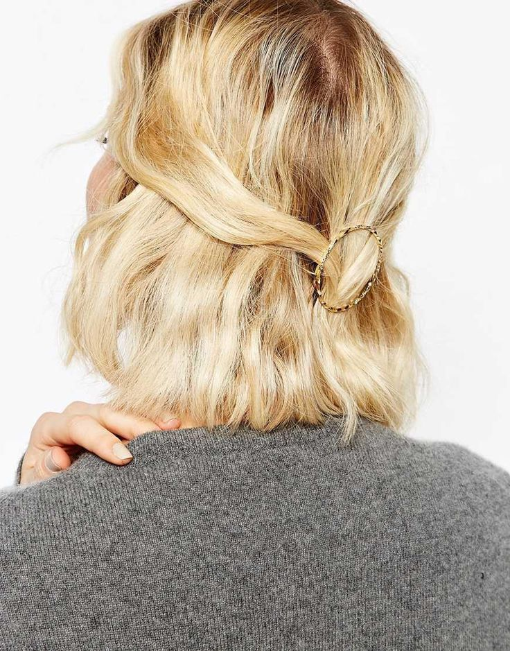 ASOS | ASOS Open Twist Circle Hair Clip at ASOS