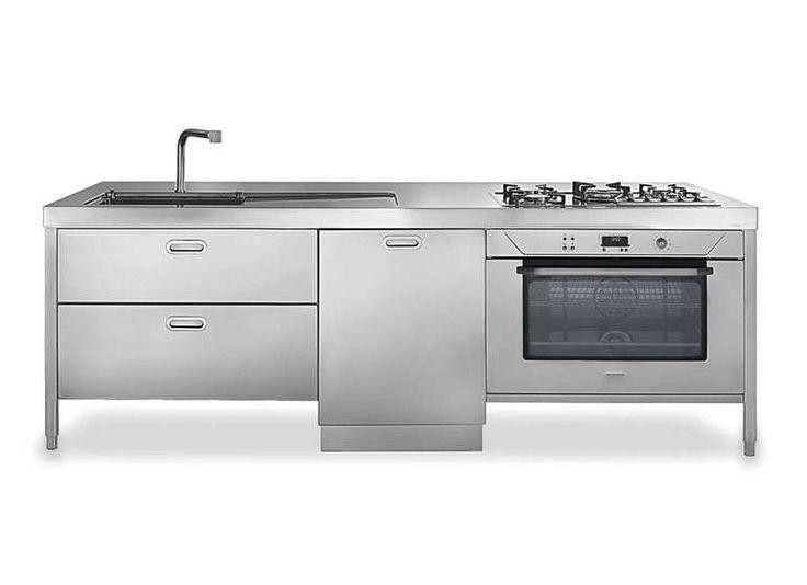 17 migliori idee su cucina in acciaio inox su pinterest - Cucine in acciaio per casa ...