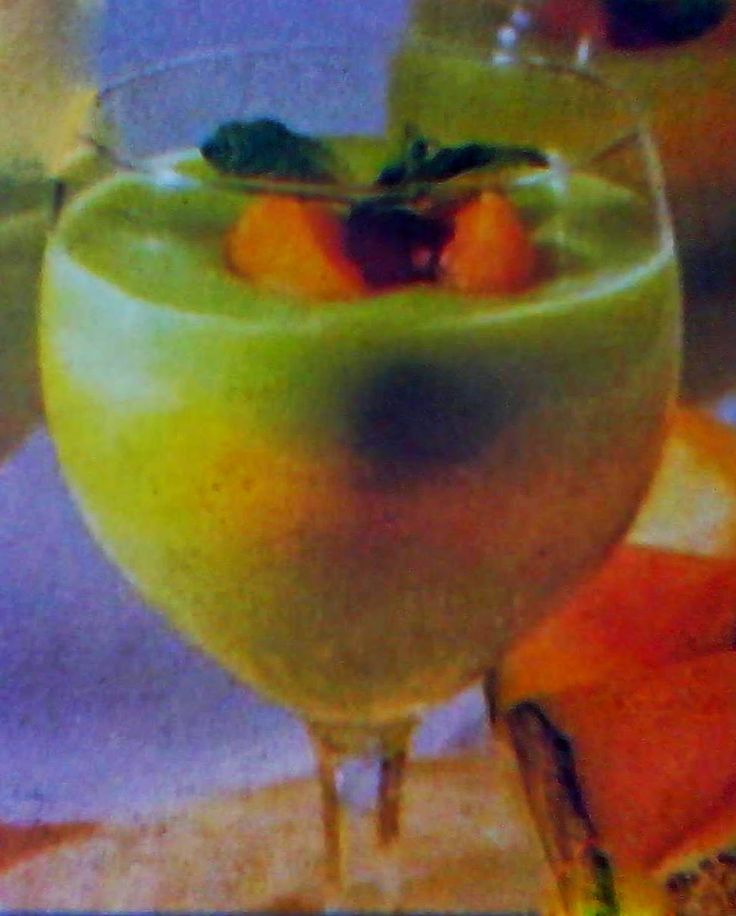 Resep puding melon
