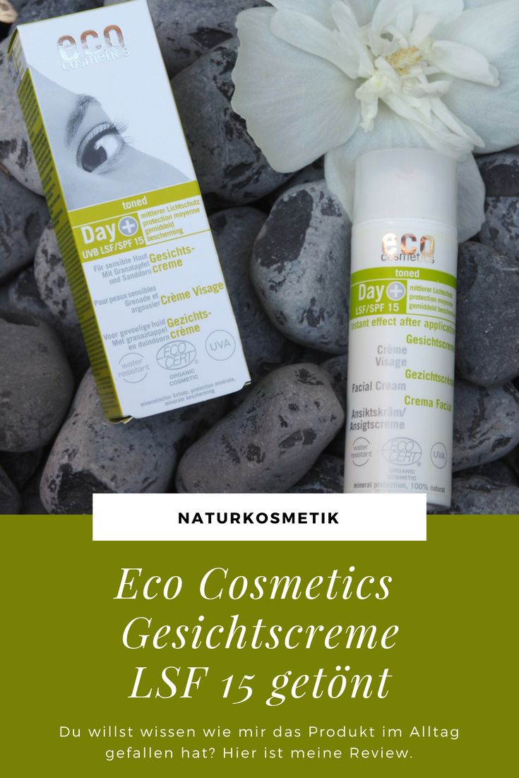 Auf der Suche nach einer Gesichtspflege für den Sommer bin ich zufällig auf die Eco Cosmetics Gesichtscreme LSF 15 getönt gestoßen. Mittlerweile ist der Sommer fast vorbei und ich hatte viel Zeit, die Creme ausgiebig zu testen. #naturkosmetik #review #beauty #ecocosmetics #gesichtscreme