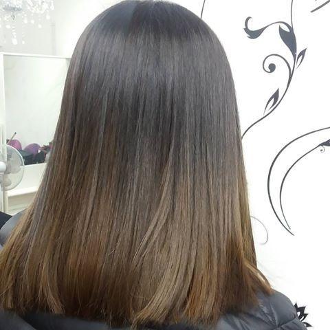 Ombre sutil  #freestyle #hair #haircut #haircolor #cabello #pelo #peluquería #salonunisex #balayage #ombre #californianas #mechascalifornianas #babylight #light #luces #stgo #santiago #stgocentro #hairstyle #style #coloración #olaplex #HairStyle #instahair #instahaircolor #instahairstyle #instahairstyle
