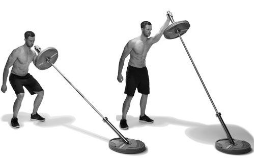Do the landmine press to build explosive shoulder strength ... | 499 x 322 jpeg 17kB
