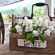 DIY::'Lady' Pretty planter