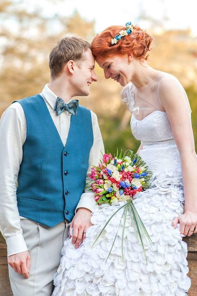 Lusinda svatební šaty custom made wedding dress, original, romantic