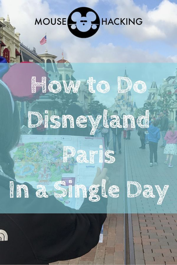 Plan the perfect day at Disneyland Paris! Our one-day Disneyland Paris plan! Pin it!