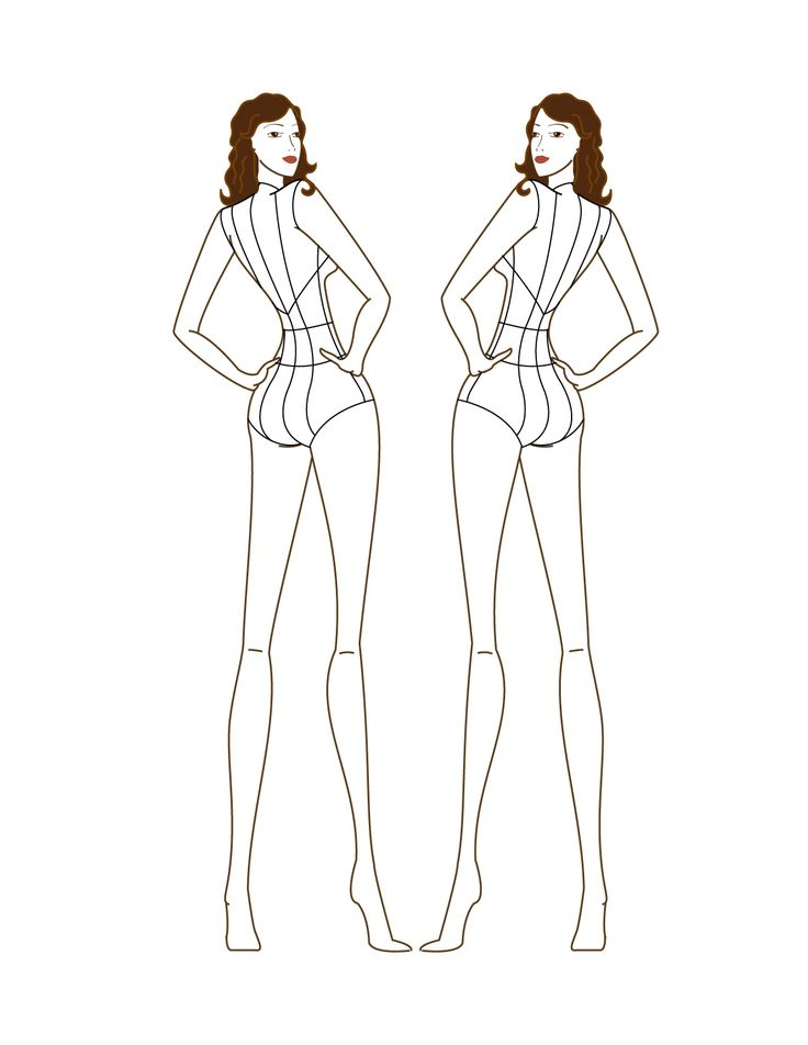 #croqui | croquis | Fashion figure drawing, Fashion design ...