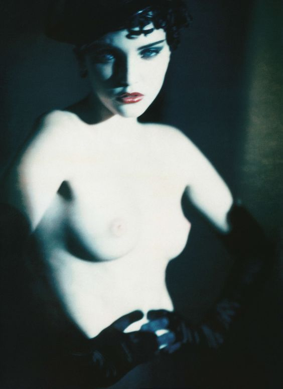 Nadja Auermann by Paolo Roversi for Vogue Italy Supplement, March 2005