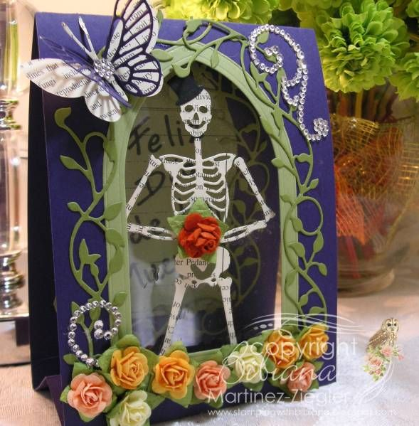92 best day of the dead images on pinterest skulls day of dead tent card memory box day of the dead m4hsunfo