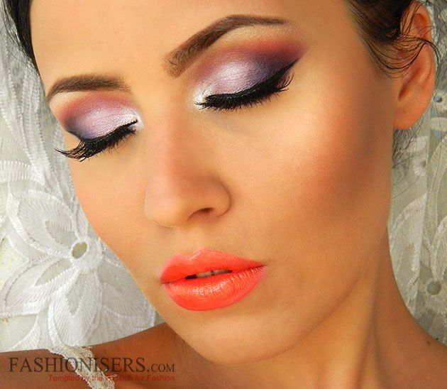 Summer Bright Makeup Tutorial  #makeup #summermakeup #brightmakeup