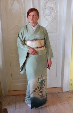 Sewing kimono part 14: the final