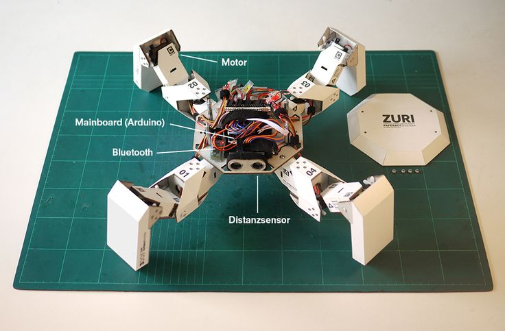 Zuri - Zoobotics • Programmable robot kit with an exterior structure of paper. Assembled with a few basic tools, like a ruler, glue, and a razor blade.