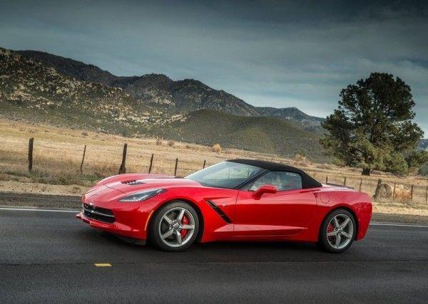 2014 Chevrolet Corvette C7 Stingray Convertible reds design