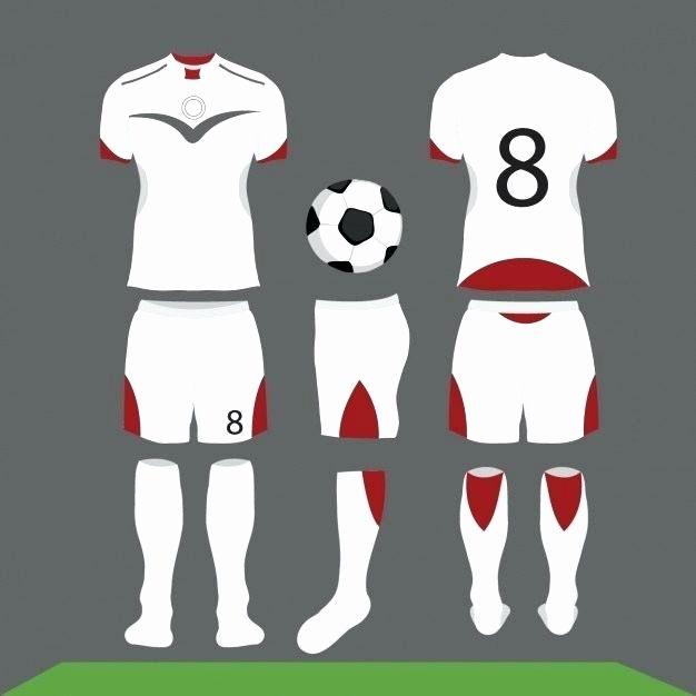 Nike Football Uniform Template Psd Awesome Set Football Kit Royalty Free Vector Image Jersey Template Psd In 2020 Soccer Kits Soccer Shirts Football Uniforms