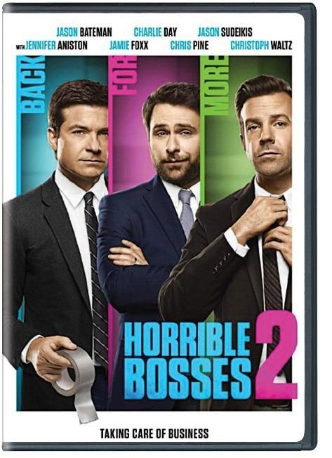 Pre-order Now! Horrible Bosses 2 DVD Online In India #HorribleBosses2 #HorribleBosses #DVD #Englishmovies #Hollywood #DramaMovies #JennifferAniston