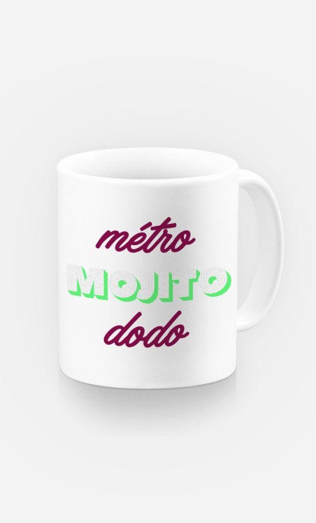 Mug Métro Mojito Dodo de la Collection Girl Power - Wooop.fr
