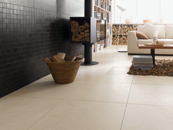 Ideale Kombination für Wohnzimmer und Bad: Fliesen + Fußbodenheizung