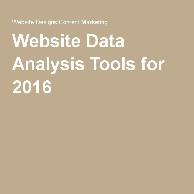 The 25 best data analysis tools ideas on pinterest data science website data analysis tools for 2016 fandeluxe Choice Image
