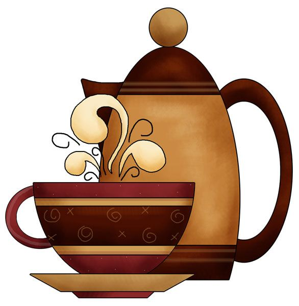 coffee time applique