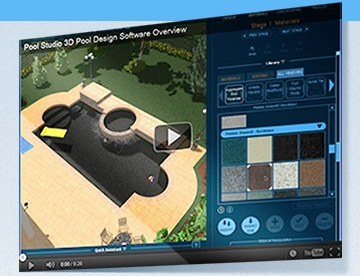 Structure Studios Pool Studio 3D Design Software
