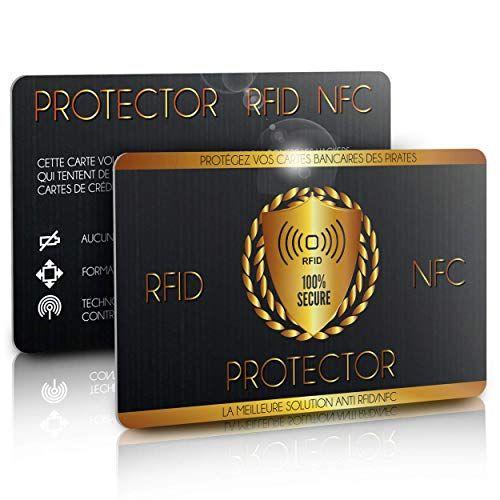 Carte Anti Rfid Nfc Protege Toutes Vos Cartes Bancaires Des