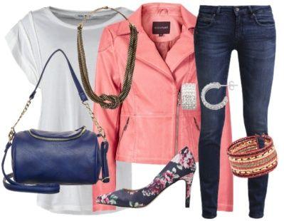 Osez le perfecto rose ! Vous pouvez retrouver cette jolie tenue ici: http://stylefru.it/s860159 #outfitoftheday #ootd #perfectorose