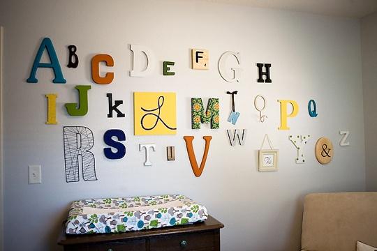 several alphabet tutorials
