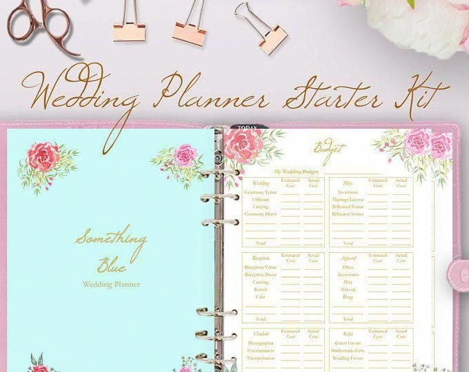 Wedding Planner Istant | Wedding Planner Book Wedding Planning Book Planner Printable
