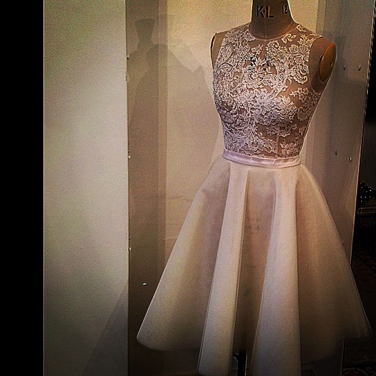 Custom made , BOURHAN BASMA COUTURE , lace and tulle dress