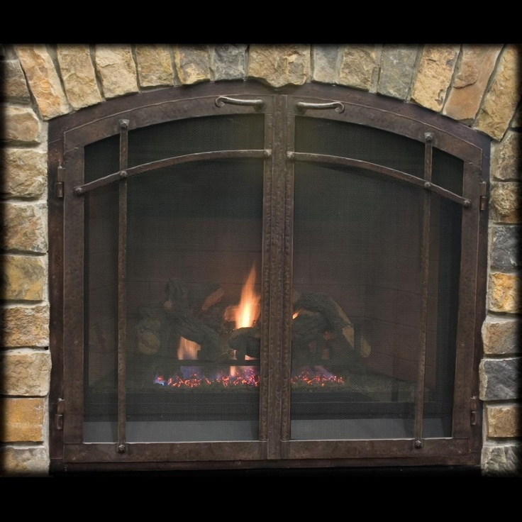 113 best images about craftsman style homes ideas on for Craftsman fireplace pictures