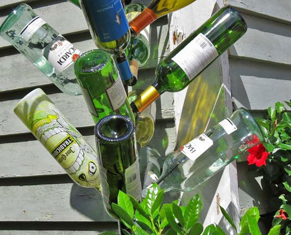 13 best images about beer bottles galore on pinterest for Recycled glass projects