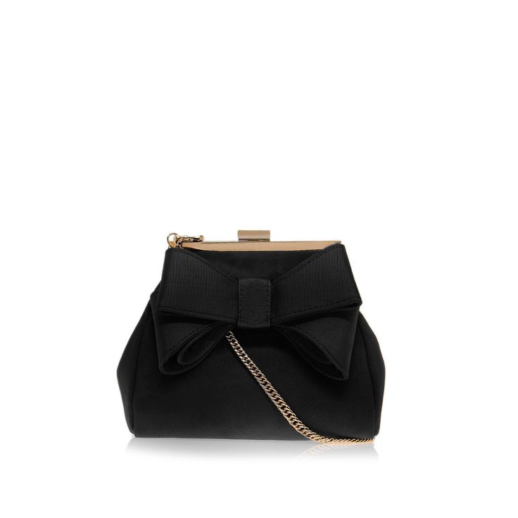 tara, black bag by miss kg - bags & accessories