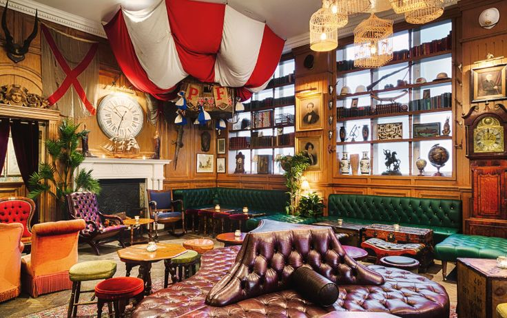 Mr Foggs, Mayfair Speakeasy and cocktail bar