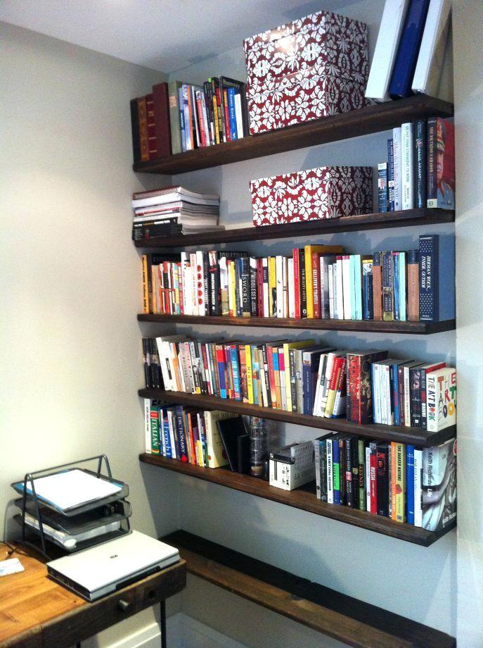 promo code 2fe94 271a8 Floating Bookshelves Ikea Shelves Books ...   Floating ...