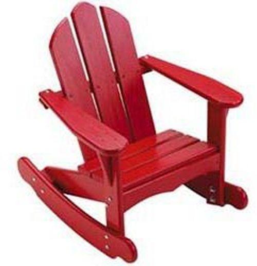 Little Colorado Child's Sunroom Adirondack Rocking Chair - Adirondack Chairs at Hayneedle