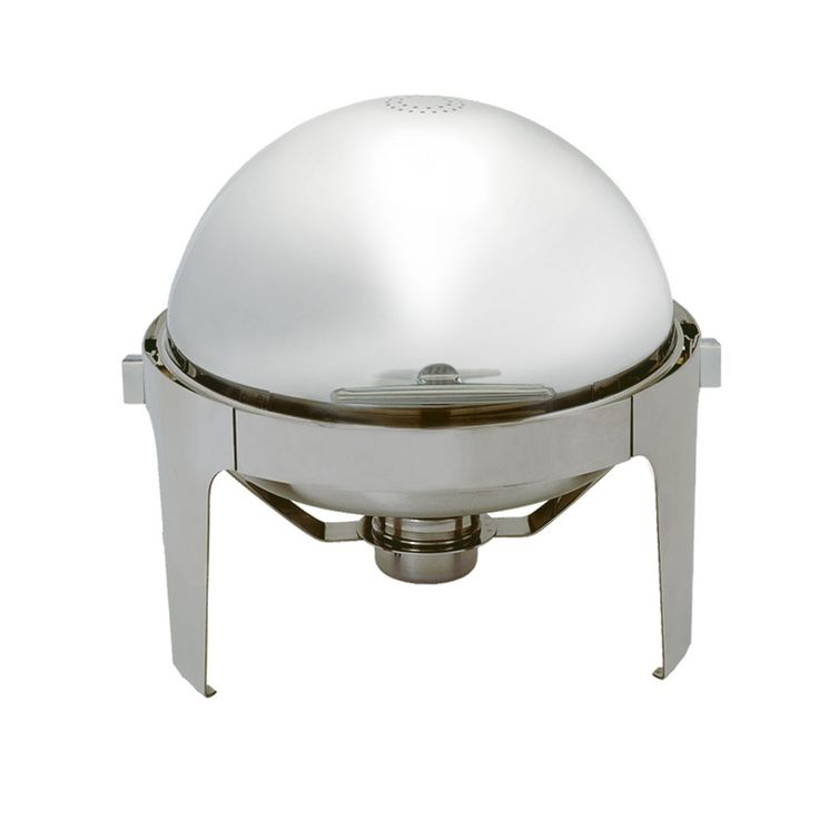 7.2 Qt Round Roll Top Chafer