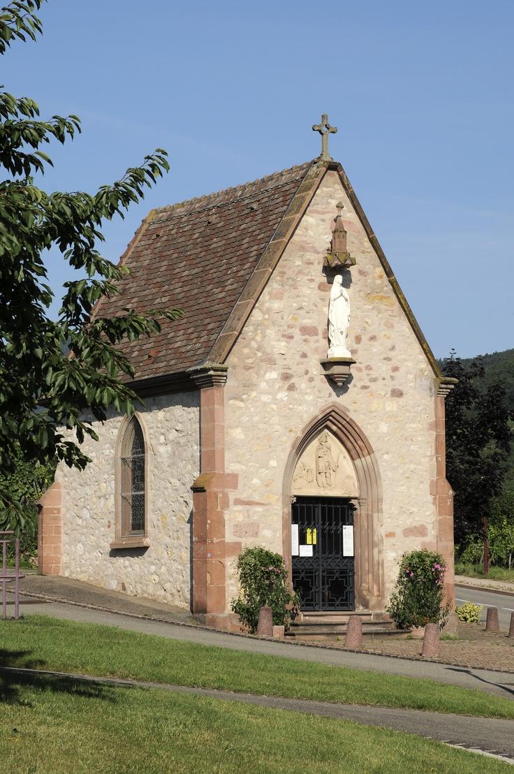 La Chapelle  St Wendelin à #Ammerschwihr
