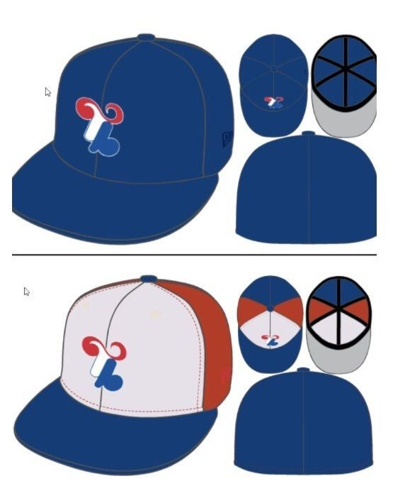 Hatclub Tampa Bay Rays Montreal Concept Hat Tampa Bay Rays Hats Tampa Bay
