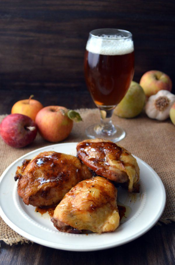 Brown Sugar Roasted Chicken Thighs Paired with Pumpkin Ale ...