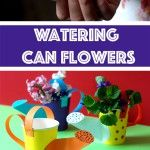DIY+Watering+Can+Flowers