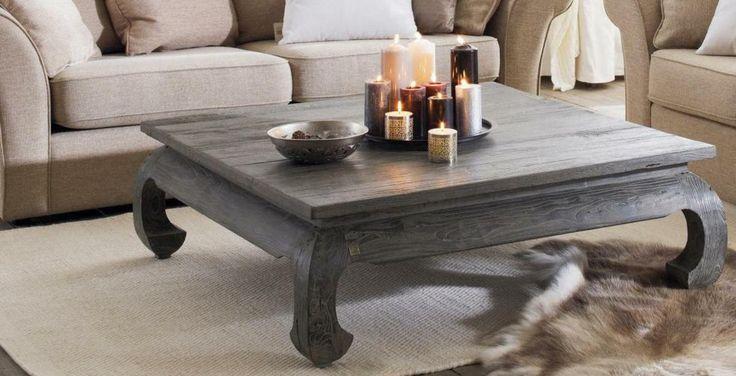 Table basse opium, relooking made in Angel - Table basse opium - moderniser un meuble en bois