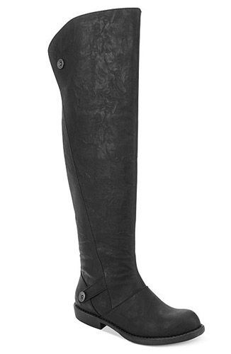 Tall Boots: Over-The-Knee  'Blowfish' Attila Over the Knee Boots, $79, macys.com  Read more: Cheap Winter Boots Under $100 - Cool Fall and Winter Boots For Girls - Seventeen  Follow us: @david on Twitter | seventeenmagazine on Facebook  Visit us at Seventeen.com
