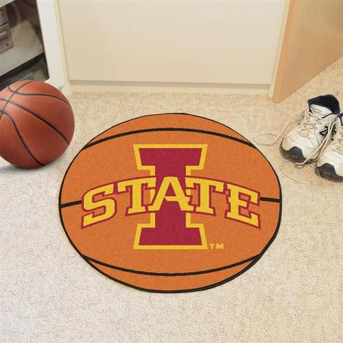 Iowa State Cyclones Basketball Floor Rug Mat