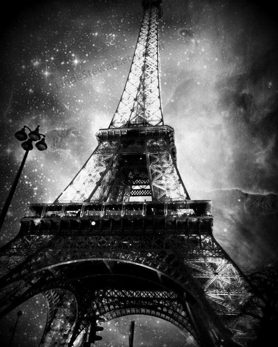 Eiffel Tower Wall Art Paris Eiffel Tower Photo at by LindeStewart