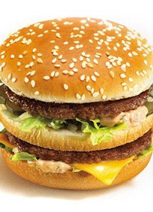 McDonalds Bigmac burger