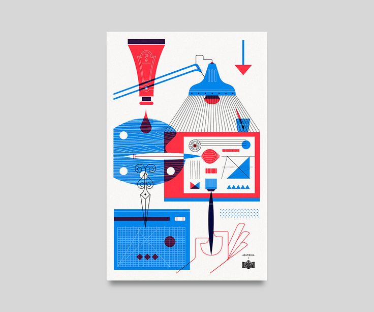 Synth City on Behance