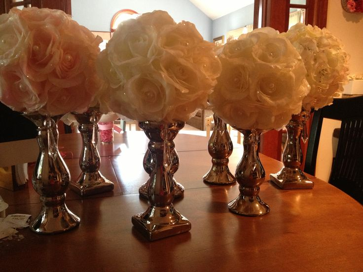 Christening centerpieces definite christening ideas pinterest crafts nice and vases - Simple baptism centerpieces ...