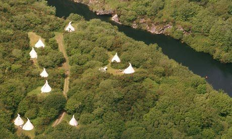 Best Campsites in Cornwall by The Guardian